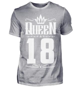 18. Geburtstag 18 Jahre Queen Königin w