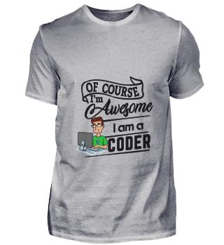 D001-0197B Proud Coder Programmierer - A