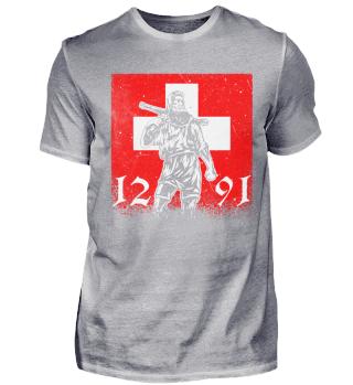 Wilhelm Tell 1291 Schweiz Patriot