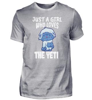 Yeti Bigfoot Sasquatch Love Girls