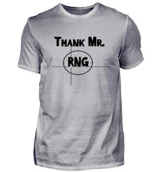 Thank Mr RNG FPS Gamer Black