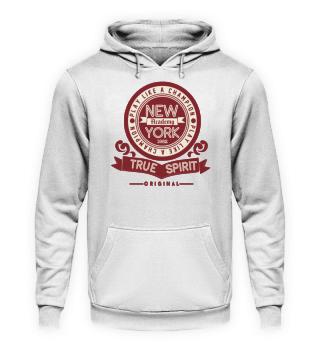 Herren Hoodie Sweatshirt New York Academy Ramirez