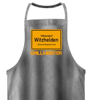 Ortseingang - Print GRILLSCHÜRZE