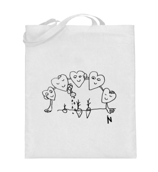 Hearts - Tote-bag