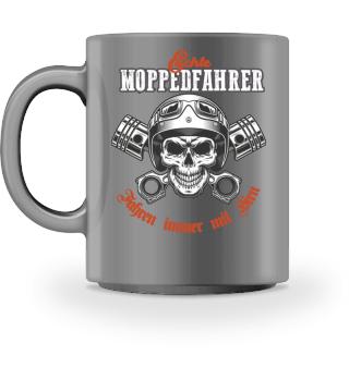 Kaffee für Echte Moppedfahrer - Skull
