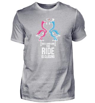 Ride is closing - Hochzeit Heirat
