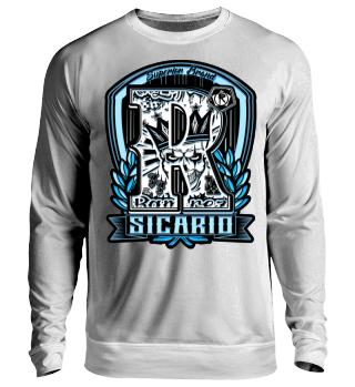 Herren Langarm Shirt Sicario Ramirez