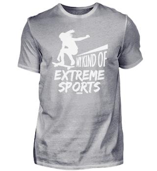 Skateboarding extreme sports girl
