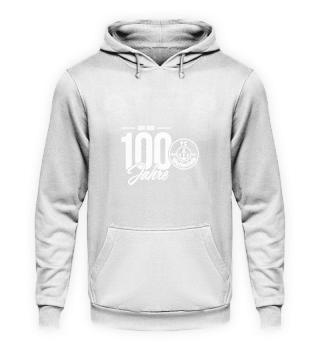 Hoodie Unisex 100 Jahre