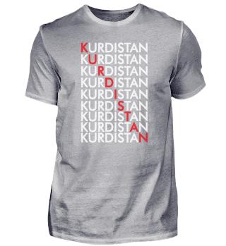 Kurdistan Retro Vintage Kurdish