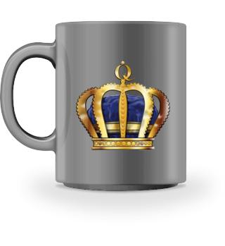WE ROCK Queen - Tasse Krone