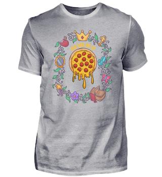 Pizza Fairy Tale Magie lustig Geschenk