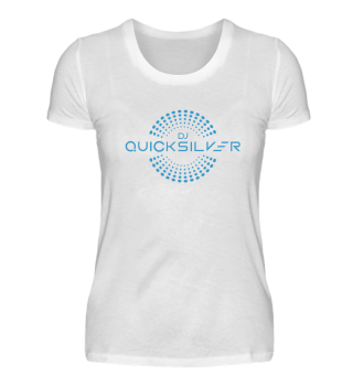 DJ Quicksilver Logo Blue