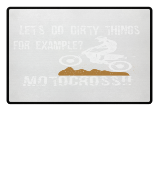 Let's do dirty things