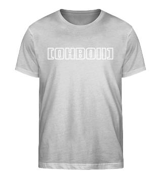 Font Rim Shirt   U-Neck
