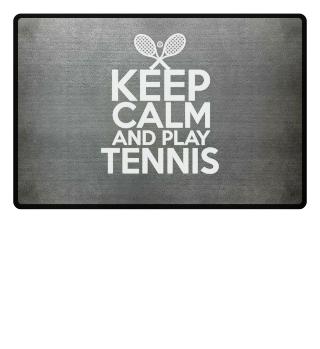 Keep calm Stay calm and play tennis