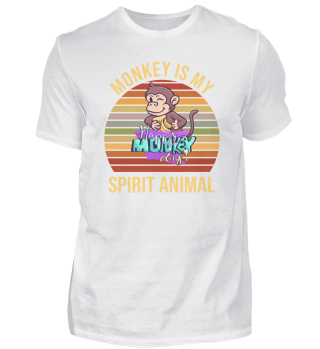 Monkey is my Spirit Animal