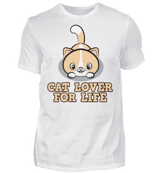 cat lover for life