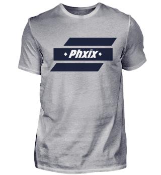 Phxix ➖ Premium T-Shirt I Herren - Weiß
