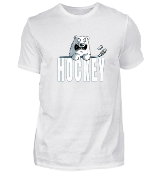 Eisbär spielt Hockey I Eisbären I Comic