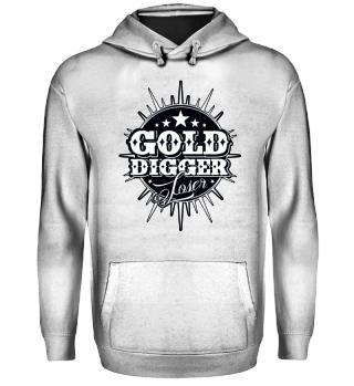 Herren Hoodie Gold Digger BW Ramirez