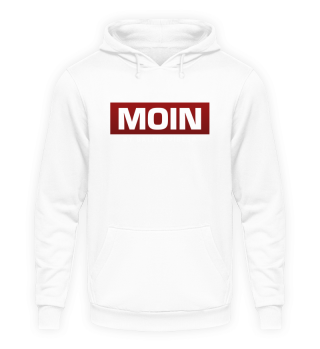 Moin boxed rot BLK Hoodie