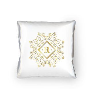 Decorative pillow with noble pressure