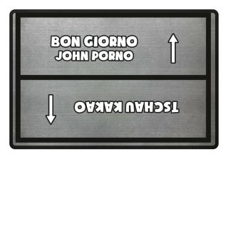 John Porno / Tschau Kakao Hell