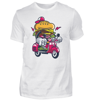 ☛ Burger Scooter #20.2
