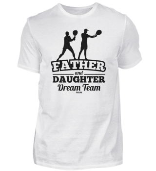 Father Daughter Tennis Father's Day Gift