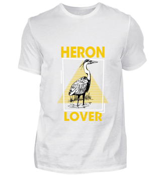 Heron Lover - Wading Bird, Garca-Real, G