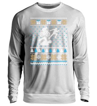 Triathlon Ugly Christmas sweater