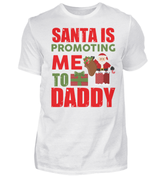 SANTA IS PROMOTING T-SHIRT