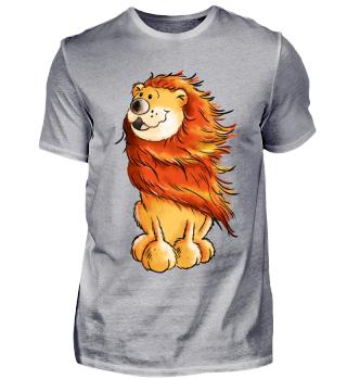 Niedlicher Löwe I Comic Lion