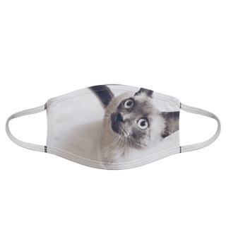 Gesichtsmaske mit Katzenmotiv 20.24