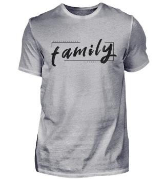 FAMILY EDITION 2020 Aufdruck Schwarz