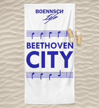 handtuch beethoven city