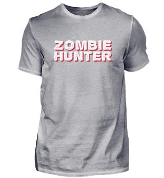 Zombie Hunter Halloween Blood Gift Dead