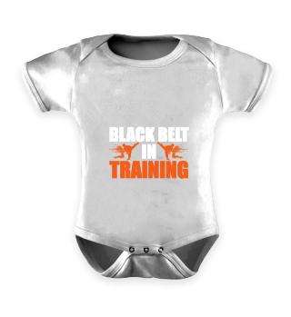 Martial Arts Black Belt in Training - Gi