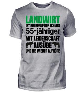 55-jähriger Landwirt T-Shirt