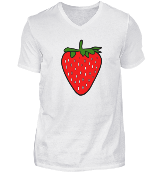 Erdbeere, Kochschürze, Grillschürze