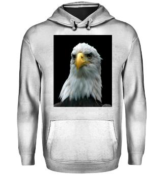 Weißkopf-Seeadler Hoodie Unisex