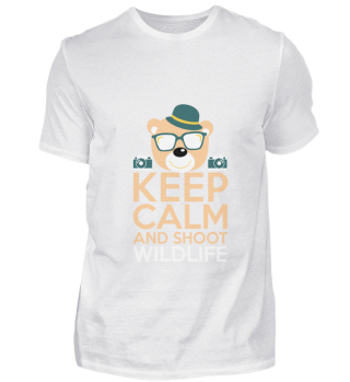 Funny Keep Calm And Shoot gift