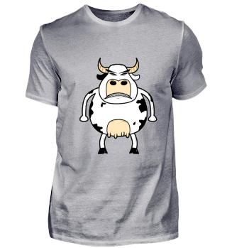 Landwirtschaft · böse Kuh