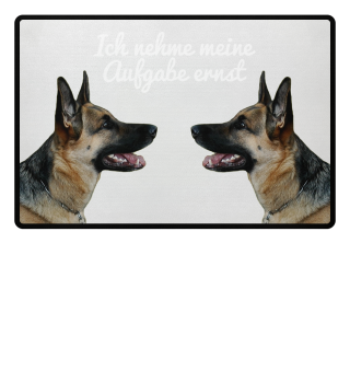 Deutsche Schäferhunde - Aufgabe