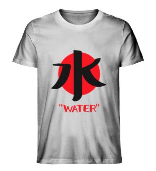Japanisches Zeichen für Wasser