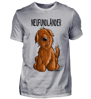 Brauner Neufundländer I Hund Comic