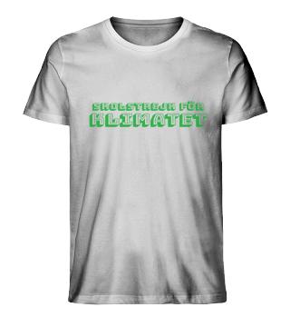 SKOLSTREJK FÖR KLIMATET-Organic Shirt