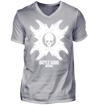 Battle Audio Records V-neck