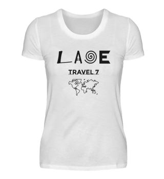 Laoe Travel 7 Klassischisch Logo Black ( Women )